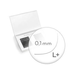 PESTAÑAS SILK BLACK BIG PALETTE L+, 0.1 de 11 mm.11